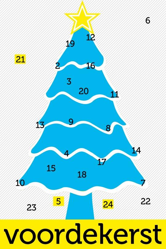 zaterdag 1 december