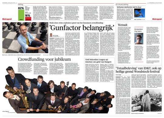 Crowdfunding Noordhollands Dagblad