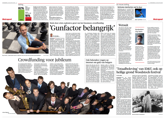 Crowdfunding Noordhollands Dagblad