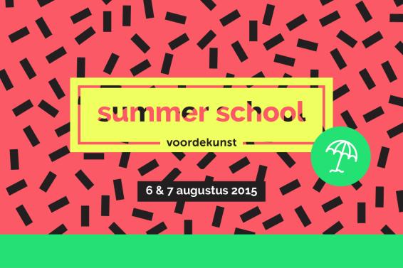 voordekunst Summer School 2015