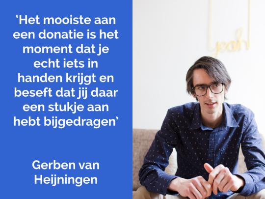 Donateur  Gerben van Heijningen