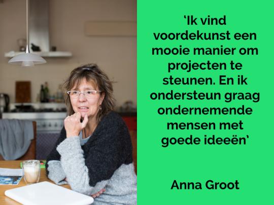 Donateur Anna Groot